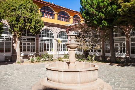 POTOSÍ, BOLIVIA - 21 de mayo, 2015: Iglesia San Lorenzo (Iglesia de San Lorenzo) se encuentra en Potosí, Bolivia.