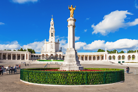 referidos: The Sanctuary of Fatima, which is also referred to as the Basilica of Our Lady of Fatima, Portugal