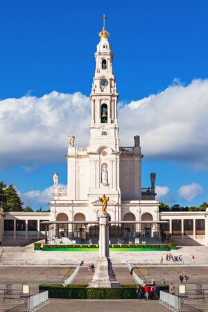 referred: The Sanctuary of Fatima, which is also referred to as the Basilica of Our Lady of Fatima, Portugal