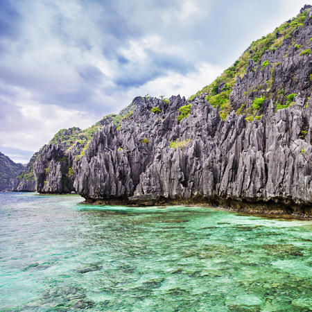 blue lagoon: Very beautyful lagoon in the islands, Philippines