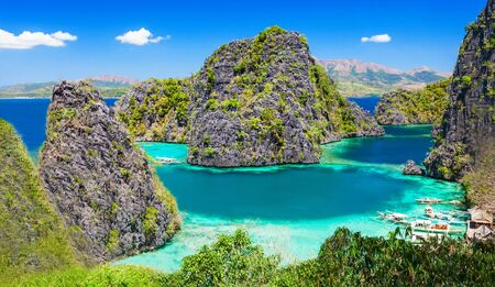 coron: Very beautyful lagoon in the islands, Philippines