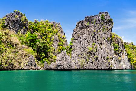 beautyful: Very beautyful lagoon in the islands, Philippines