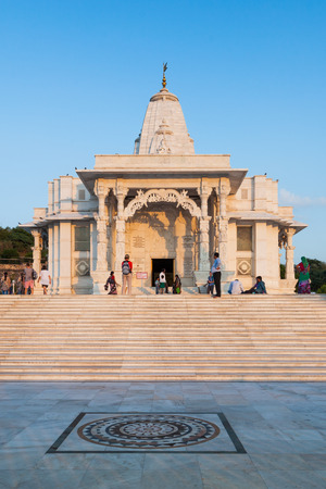 dome of hindu temple: Birla Mandir (Laxmi Narayan) is a Hindu temple in Jaipur, India