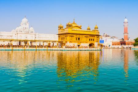amritsar: Golden Temple (Harmandir Sahib) in Amritsar, Punjab, India