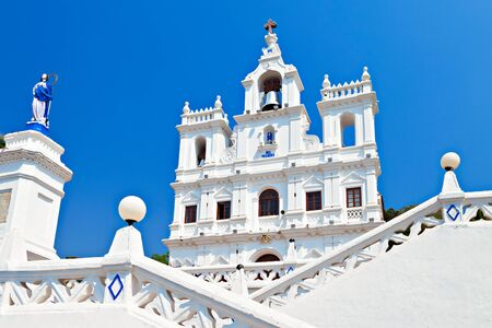 immaculate: Our Lady of the Immaculate Conception Church, Goa, India Stock Photo