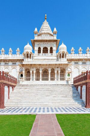 mausoleum: Jaswant Thada mausoleum in Jodhpur, Rajasthan, India