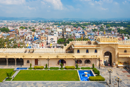 rajhastan: Udaipur City Palace in Rajasthan is one of the major tourist attractions in India