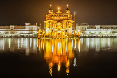 sikhism: Golden Temple (Harmandir Sahib) in Amritsar, Punjab, India
