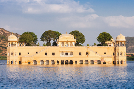 sagar: Jal Mahal (meaning Water Palace) is a palace on Man Sagar Lake, Jaipur, India
