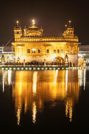 punjab: Golden Temple (Harmandir Sahib) in Amritsar, Punjab, India