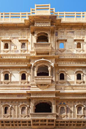 haveli: Patwon ki Haveli in Jaisalmer, Rajasthan state in India