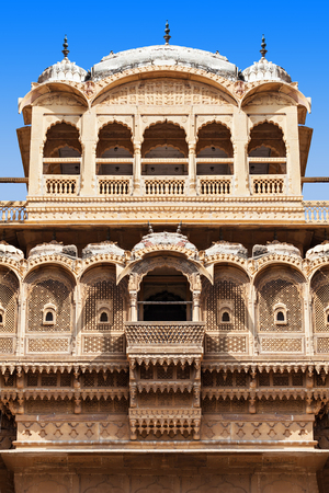 ki: Patwon ki Haveli in Jaisalmer, Rajasthan state in India