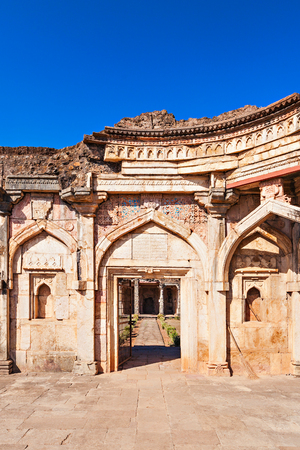 enclave: Old Mosque in Mandu, Madhya Pradesh, India Stock Photo
