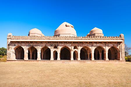 madhya: Old Mosque in Mandu, Madhya Pradesh, India Editorial