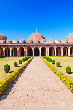 madhya: Jama Masjid in Mandu, Madhya Pradesh, India