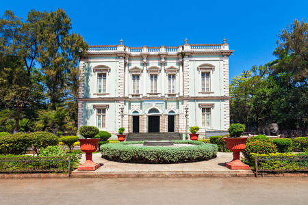 The Dr. Bhau Daji Lad Mumbai City Museum (formerly the Victoria and Albert Museum) is the oldest museum in Mumbai, India Editorial