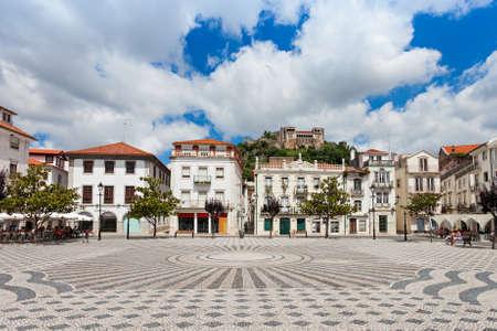 central square: Central square in Leiria, Leiria district, Portugal