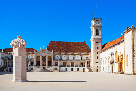 The University of Coimbra in Coimbra, Portugal