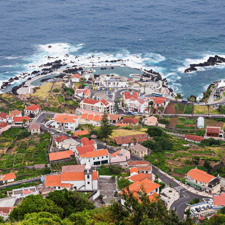 Porto Moniz is a city in the island of Madeira, Portugal