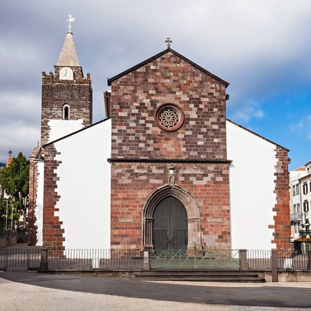 The Cathedral of Our Lady of the Assumption in Funchal, Madeira island, Portugal Stock Photo