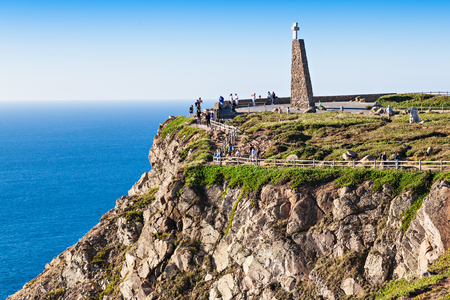 Cabo da Roca (Cape Roca) is a cape which forms the westernmost extent of mainland Portugal and continental Europe