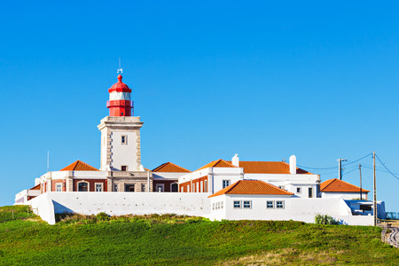roca: Light house at Cape Roca, Sintra, Portugal