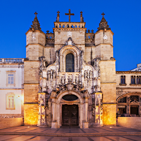 The Santa Cruz Monastery (Monastery of the Holy Cross) is a National Monument in Coimbra, Portugal