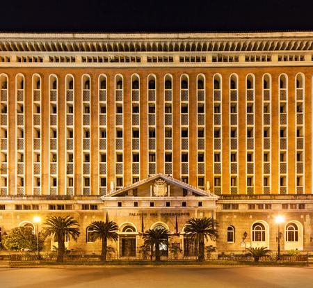 govt: MANILA, PHILIPPINES - MARCH 16: Palacio del Gobernador in Intramuros on March, 16, 2013, Manila, Philippines. Intramuros is a one of the most popular tourist destination in Manila.