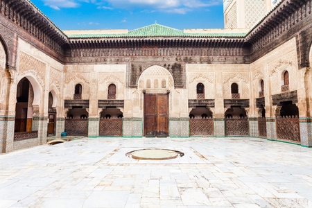The Medersa Bou Inania is a madrasa in Fes, Morocco. Medersa Bou Inania is acknowledged as an excellent example of Marinid architecture. Editorial