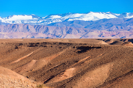 High Atlas, also called the Grand Atlas Mountains is a mountain range in central Morocco in Northern Africa