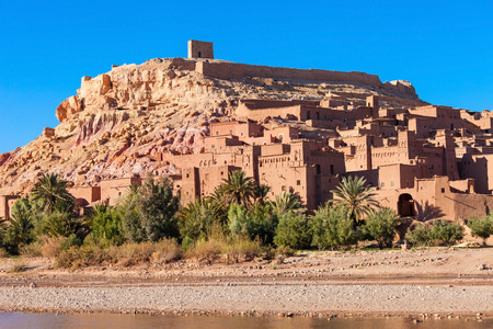 Ait Ben Haddou is a fortified city near ouarzazate in Morocco. Stock Photo