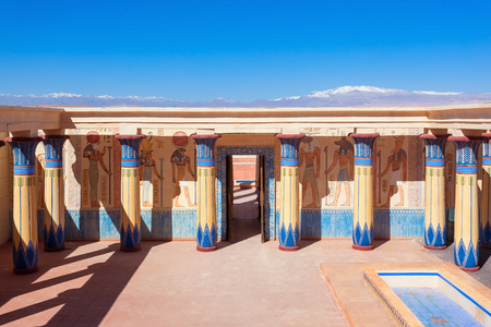 Ouarzazate Atlas Film studios in Morocco. Moroccan Atlas Studios is one of the largest movie studios in the world. Editorial