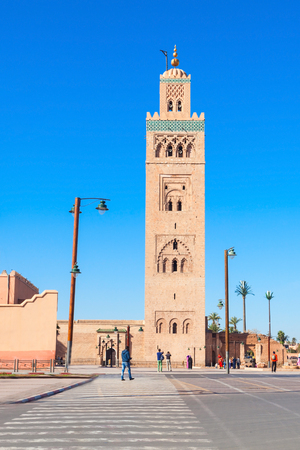 The Koutoubia Mosque or Kutubiyya Mosque is the largest mosque in Marrakesh, Morocco.
