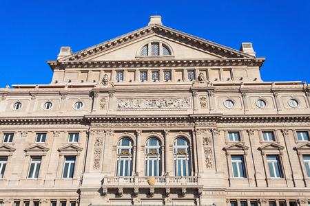 third world: Teatro Colon (Columbus Theatre) is the main opera house in Buenos Aires, Argentina. It is ranked the third best opera house in the world.