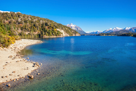 Nahuel Huapi Lake near Bariloche, Patagonia region in Argentina.