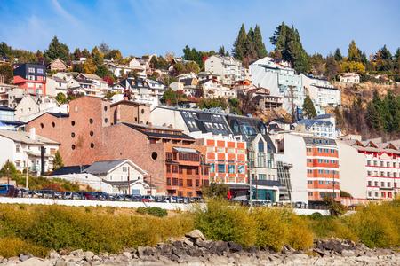 mount tronador: Bariloche city located in Patagonia region of Argentina Stock Photo