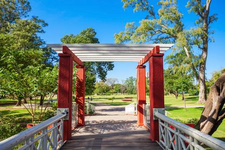 sarmiento: Sarmiento Park is the largest public park in Cordoba, Argentina
