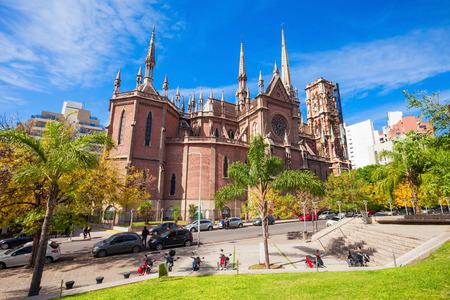 Iglesia del Sagrado Corazon (Heilig Hart Kerk), beter bekend als de Kerk van de Kapucijnen is gelegen in de stad Cordoba, Argentinië.