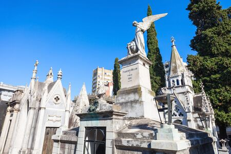La Recoleta Cemetery (Cementerio de la Recoleta) is a cemetery located in the Recoleta neighbourhood of Buenos Aires, Argentina Editorial