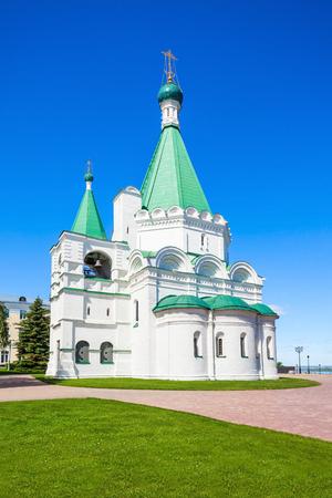 Michael the Archangel Cathedral in the Nizhny Novgorod Kremlin. Editorial