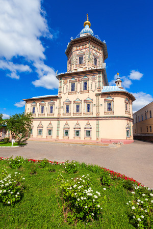 Cathedral of the Saint Apostles Peter and Paul (Petropavlovsky Cathedral) is a Russian Orthodox church in Kazan, Tatarstan republic of Russia.