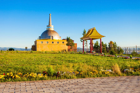 Datsan Rinpoche Bagsha in Ulan-Ude city of the Republic of Buryatia, Russia