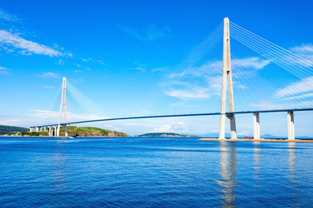 The Russky or Russian Bridge is a bridge across the Eastern Bosphorus strait, to serve the Asia-Pacific Economic Cooperation conference in Vladivostok.