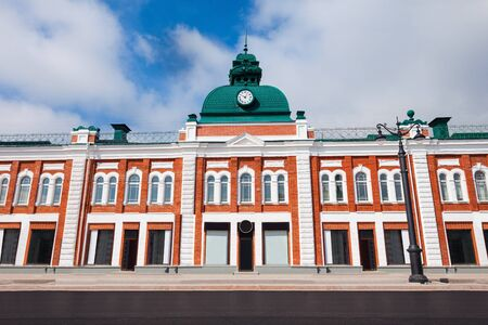 lenina: Store on the Lenina Street in the centre of Omsk in Siberia, Russia