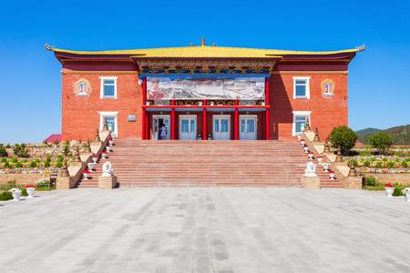 buryatia: ULAN-UDE, RUSSIA - JULY 15, 2016: Datsan Rinpoche Bagsha in Ulan-Ude city of the Republic of Buryatia, Russia. Editorial