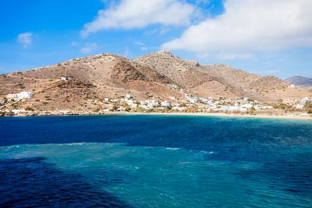 ios: Ios town and Chora village, Ios island, Cyclades in Greece