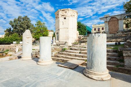The Roman Agora at Athens is located to the north of the Acropolis and to the east of the Ancient Agora. Editöryel