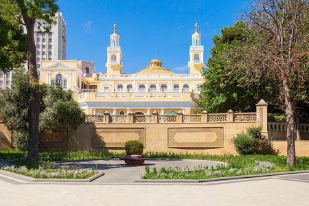 The Muslim Magomayev Azerbaijan State Philharmonic Hall is located in Baku. It is the main concert hall in Azerbaijan.