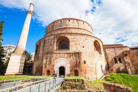 The Rotunda of Galerius or the Church of the Rotunda is the Greek Orthodox Church of Agios Georgios in Thessaloniki, Greece Stock Photo