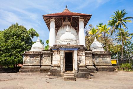Gadaladeniya Rajamaha Vihara or Saddharmatilaka Vihara or Dharma Kirthi Viharaya is an ancient Buddhist temple situated in Pilimathalawa near Kandy city in Sri Lanka